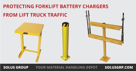 Protecting Forklift Battery Chargers from Lift Truck Traffic