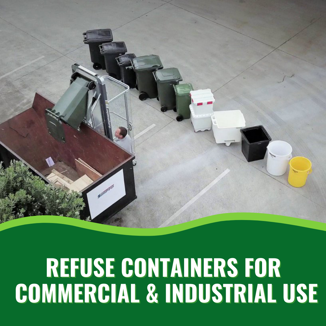 Refuse Containers for Commercial and Industrial Use