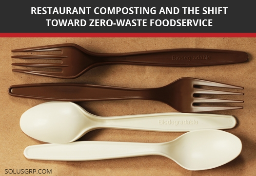 Compostable Packaging Aids in 100% Waste Diversion in Restaurants