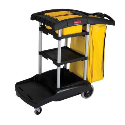 Rubbermaid High Capacity Cleaning Cart