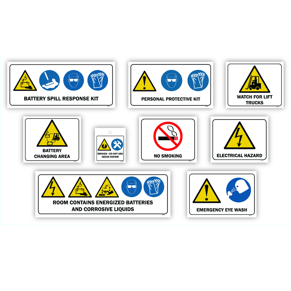 Improving the safety of your forklift fleet with better signs and signage and posting nvjuhfo Gallery