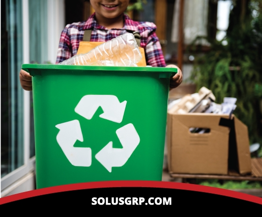 Teachers and students use Bin Tippers in school waste management systems image.