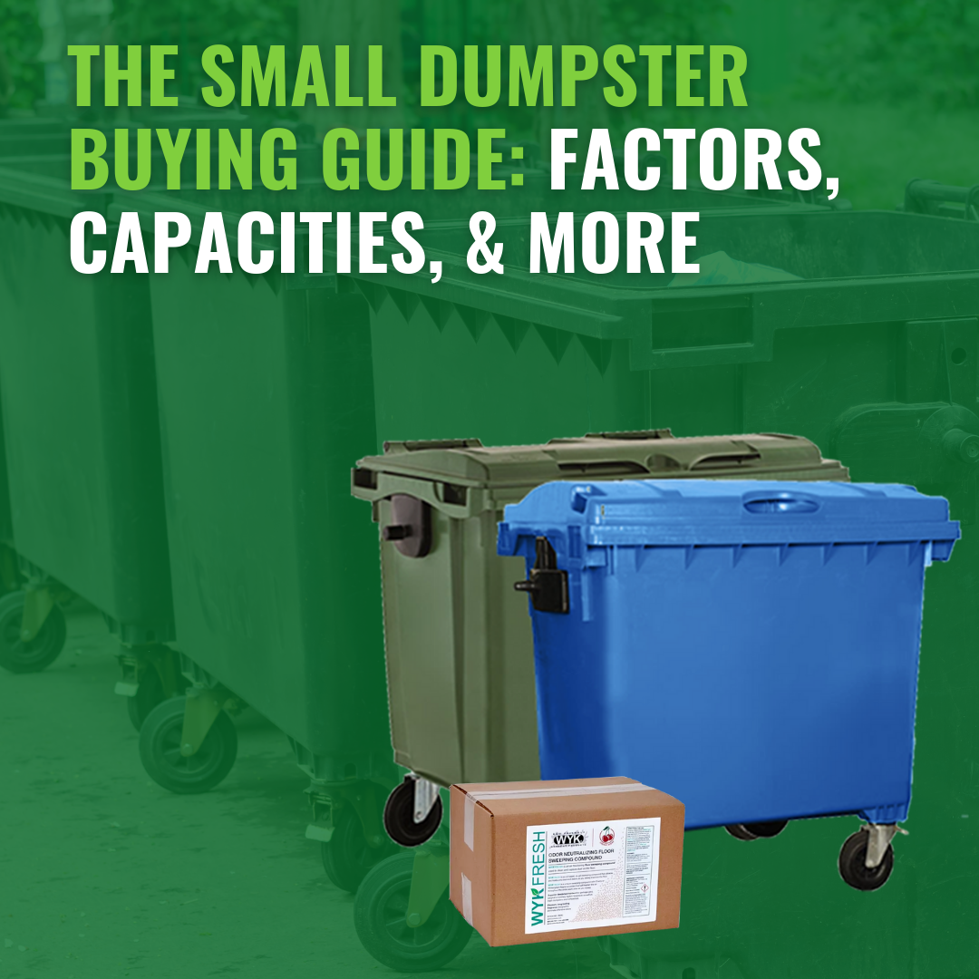 The Small Dumpster Buying Guide: Factors, Capacities, and More