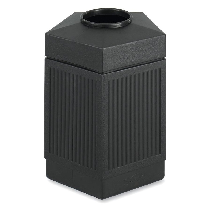 Safco CanMeleon Indoor/Outdoor Trash Receptacle