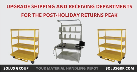 Upgrade Shipping and Receiving Departments for the Post-Holiday Returns Peak