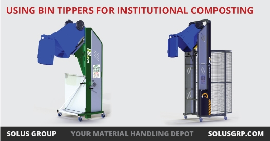 Using Bin Tippers for Institutional Composting