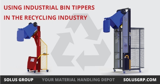 Using Industrial Bin Tippers in The Recycling Industry  width=