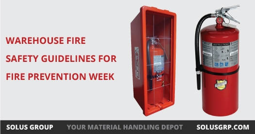 Warehouse Fire Safety Guidelines for Fire Prevention Week