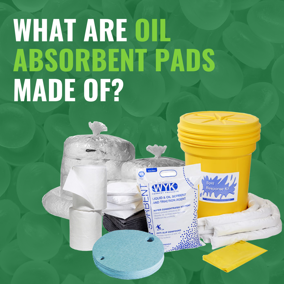 What Are Oil Absorbent Pads Made Of?