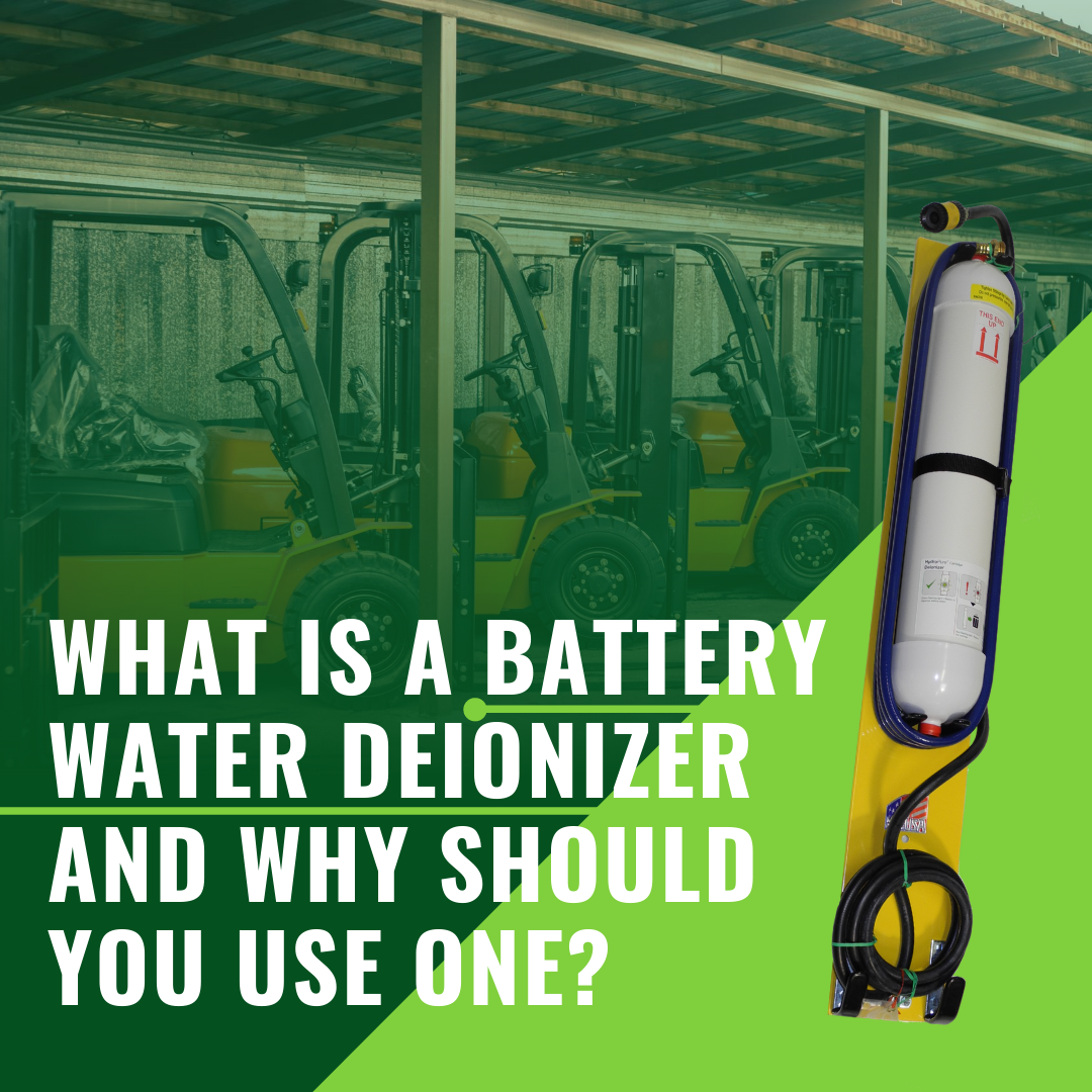 What Is a Battery Water Deionizer and Why Should You Use One?
