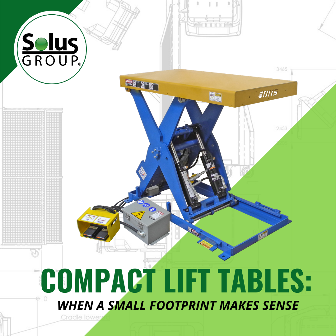 Compact Lift Tables: When A Small Footprint Makes Sense