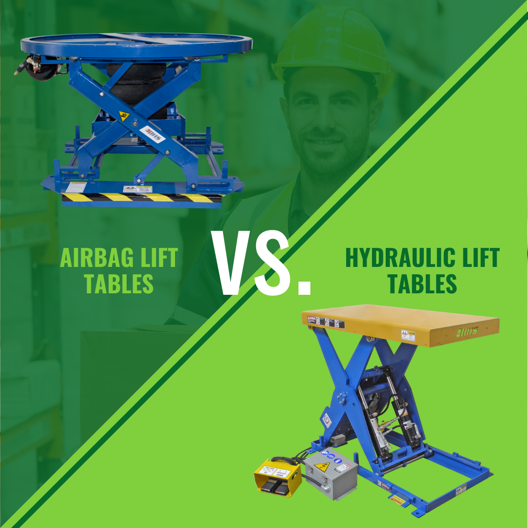 Airbag Lift Tables vs. Hydraulic Lift Tables: Which Is Best for Your Application?