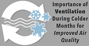 Ventilation during cold months